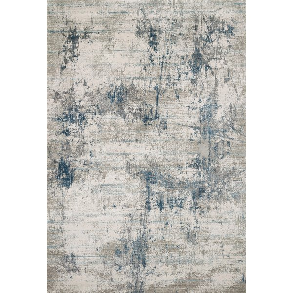 Ivory, Ocean Vintage / Overdyed Area-Rugs