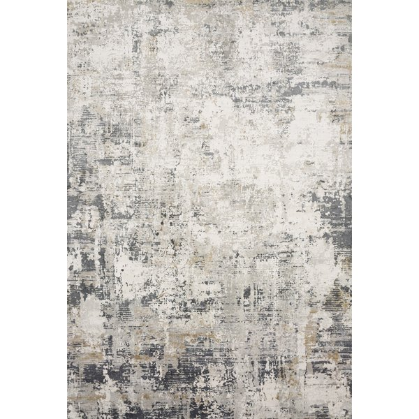 Ivory, Granite Abstract Area Rug