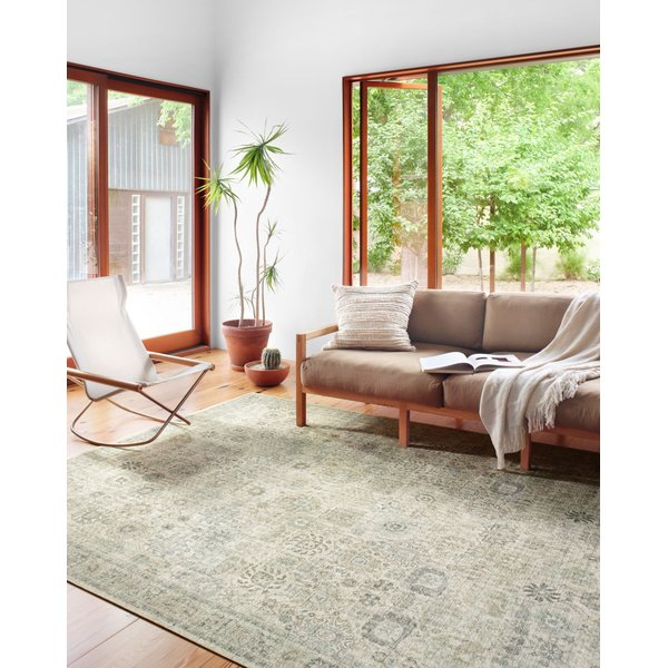 Natural, Sage Vintage / Overdyed Area-Rugs