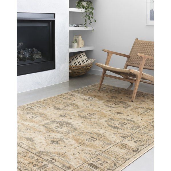 Wheat Contemporary / Modern Area-Rugs