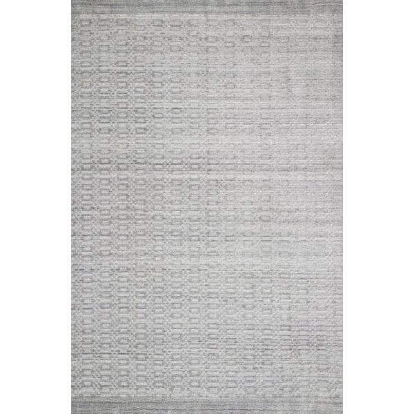 Silver Contemporary / Modern Area Rug