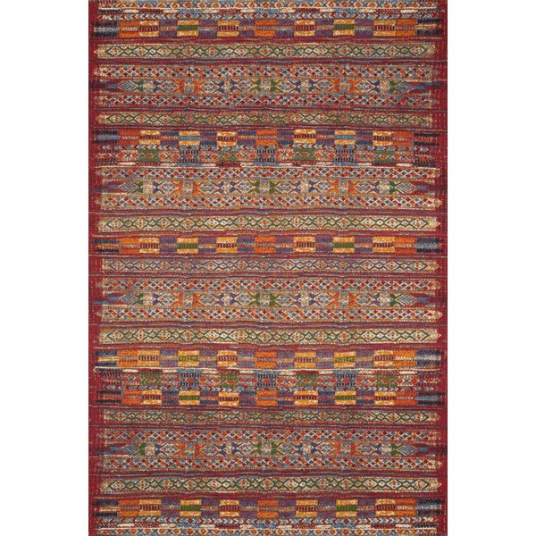 Red Southwestern Area-Rugs