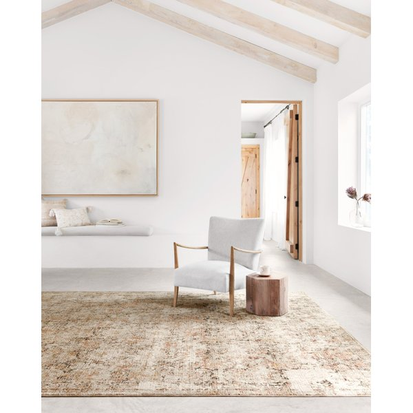 Taupe, Gold Traditional / Oriental Area Rug