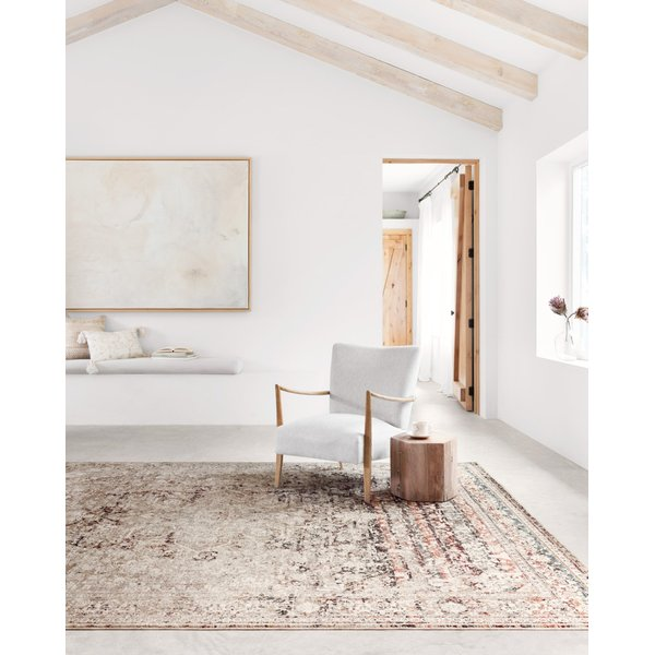 Taupe, Brick Traditional / Oriental Area-Rugs