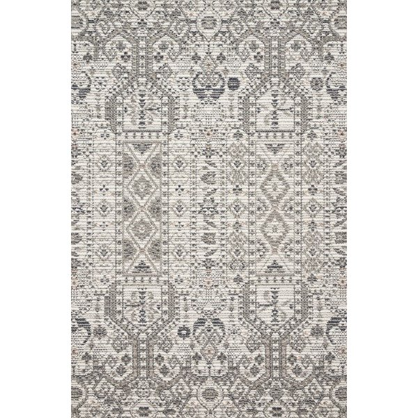 Ivory, Taupe, Grey Contemporary / Modern Area-Rugs