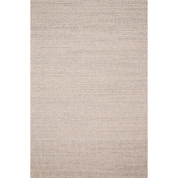Blush, Ivory Contemporary / Modern Area-Rugs
