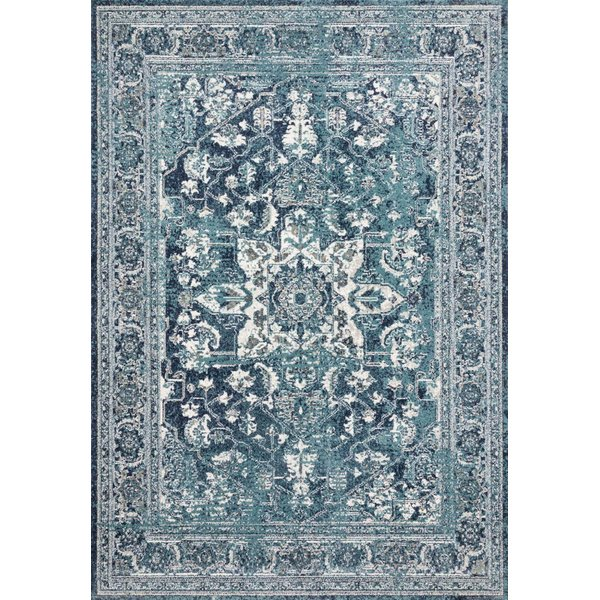 Ocean, Ivory Traditional / Oriental Area Rug