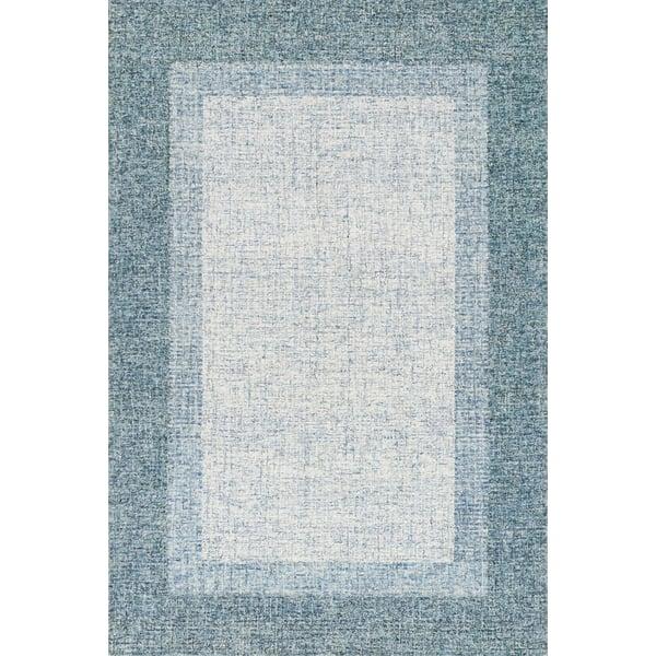 Aqua Contemporary / Modern Area-Rugs