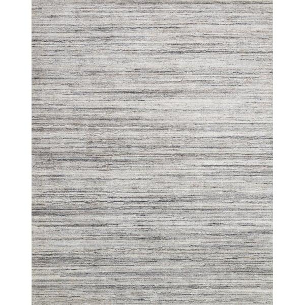 Silver, Stone Contemporary / Modern Area-Rugs