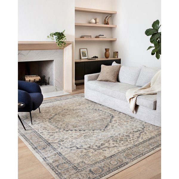 Natural, Light Grey Vintage / Overdyed Area-Rugs
