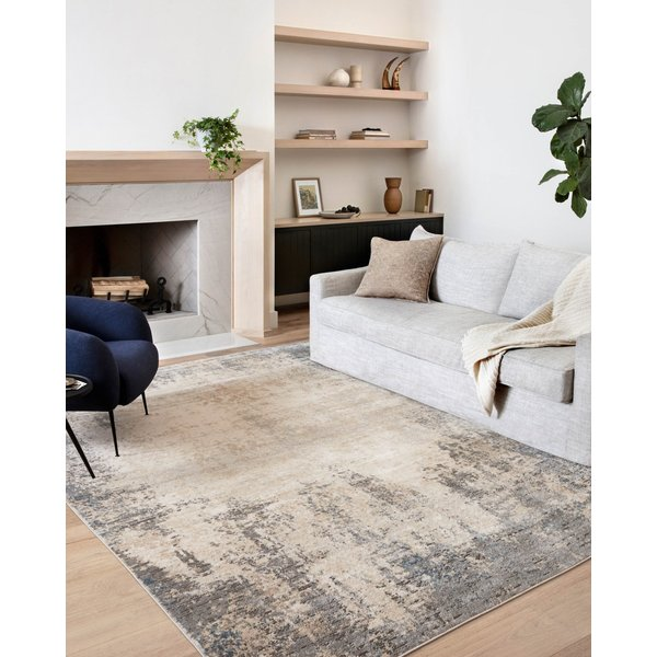 Ivory, Mist Abstract Area-Rugs