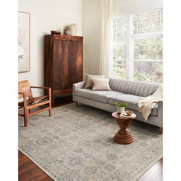 Beige (HTH-04) Traditional / Oriental Area Rug