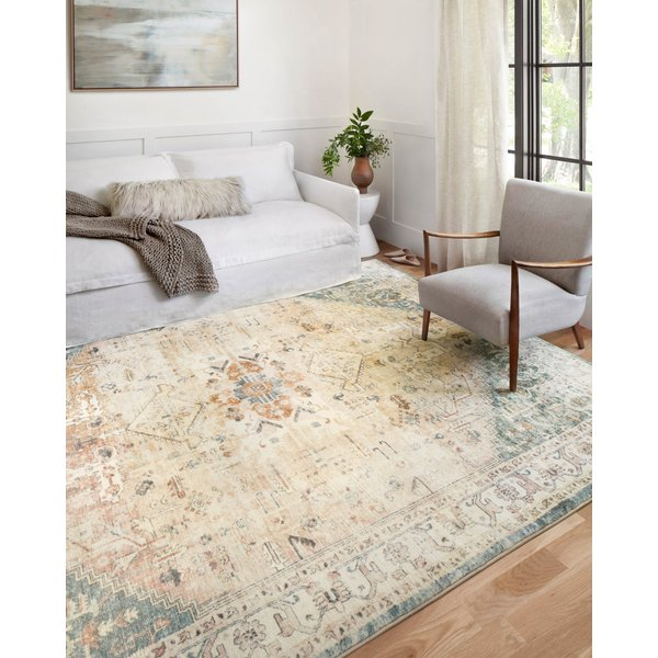 Clay, Ivory Vintage / Overdyed Area Rug