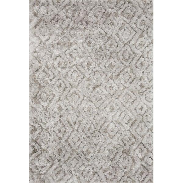 Silver Shag Area-Rugs