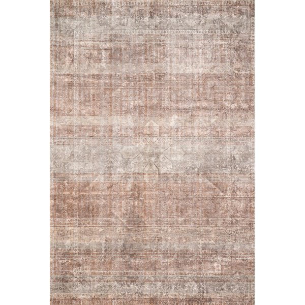Clay, Stone Vintage / Overdyed Area Rug