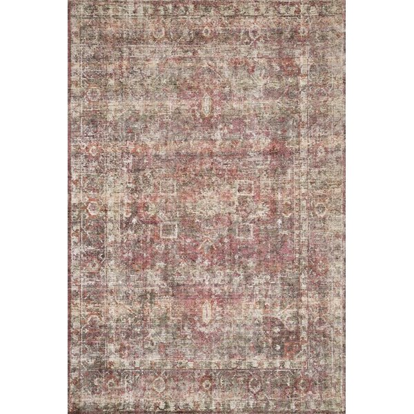 Berry Vintage / Overdyed Area Rug