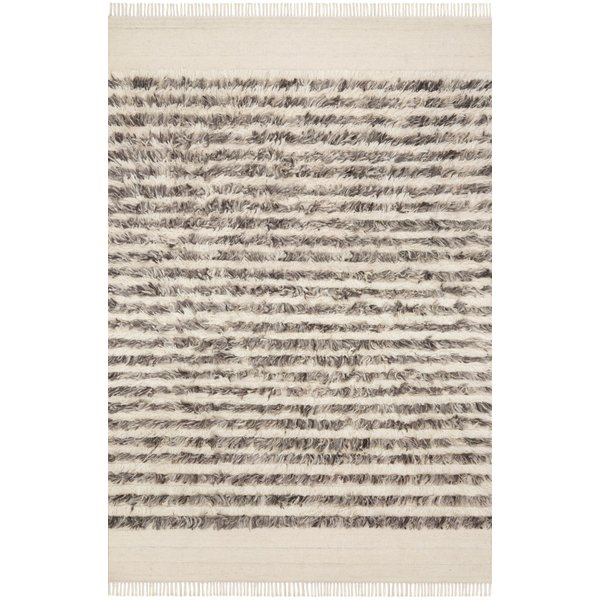 Natural, Ash Contemporary / Modern Area-Rugs