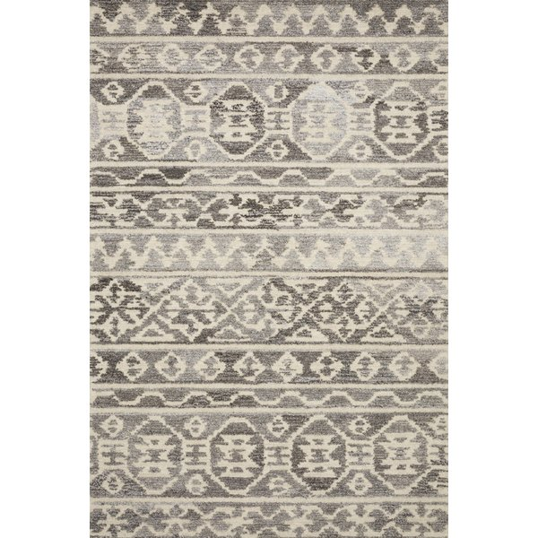 Stone, Ivory Moroccan Area Rug