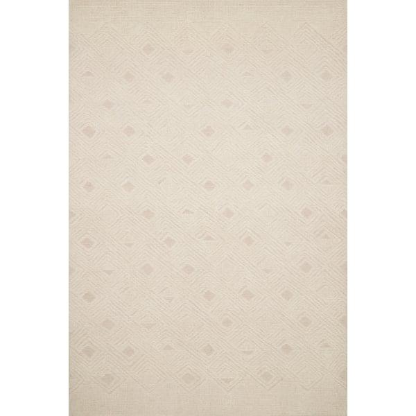 Cream, Ivory Contemporary / Modern Area Rug
