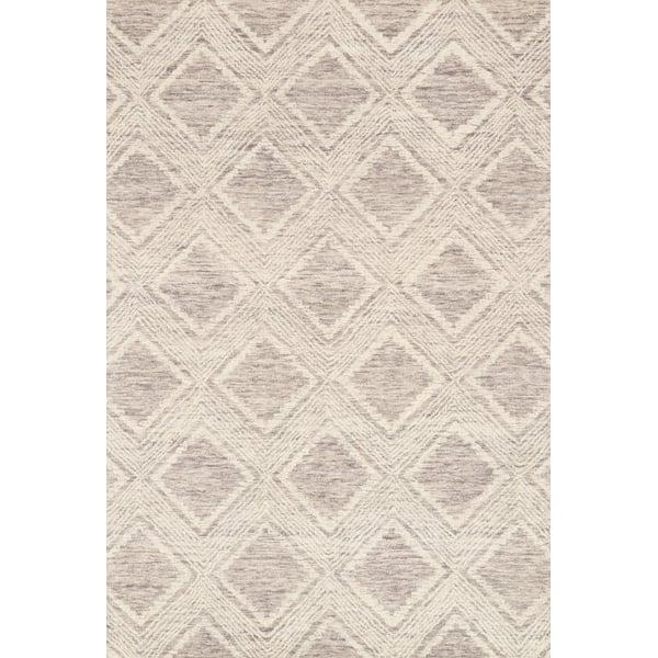 Slate, Ivory Geometric Area Rug