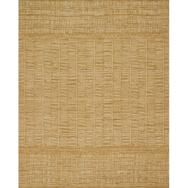 Gold, Ivory Bohemian Area-Rugs