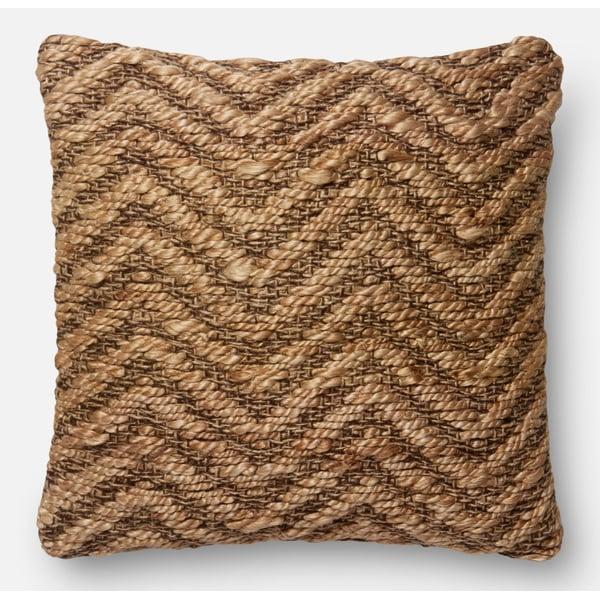 Natural Chevron Pillow
