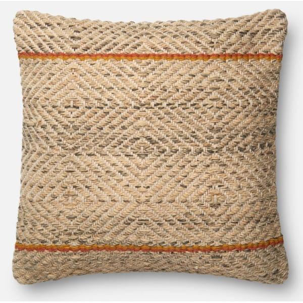 Camel, Coffee Bohemian pillow