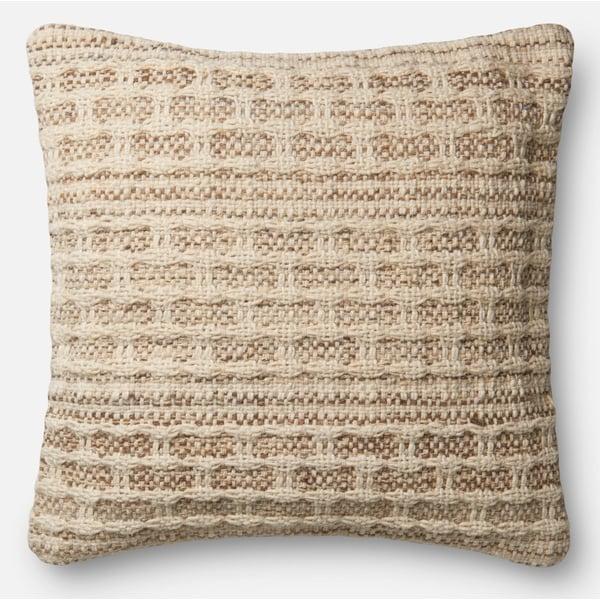 Ivory, Slate Bohemian Pillow