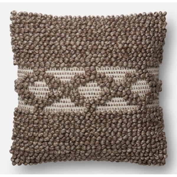 Taupe Bohemian Pillow