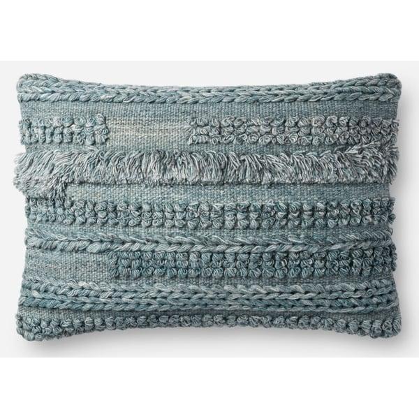 Blue Bohemian Pillow