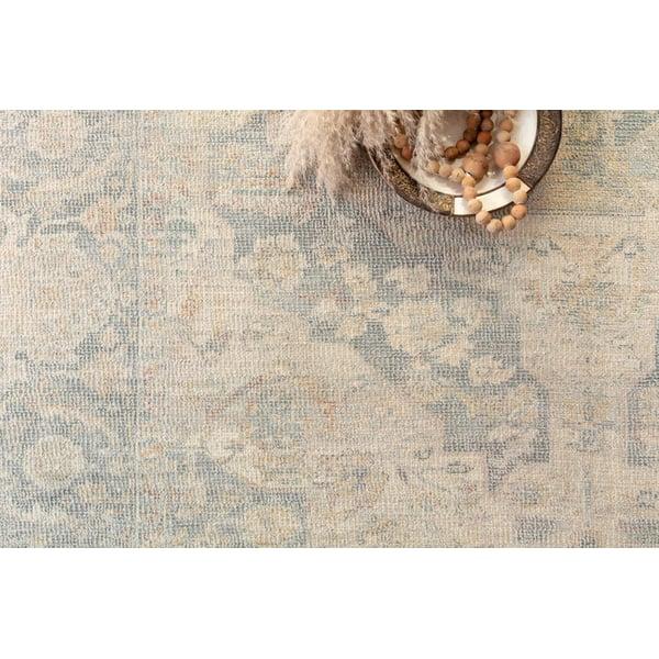 Bone, Bluestone Vintage / Overdyed Area Rug