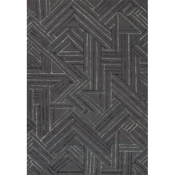 Graphite, Ocean Contemporary / Modern Area Rug