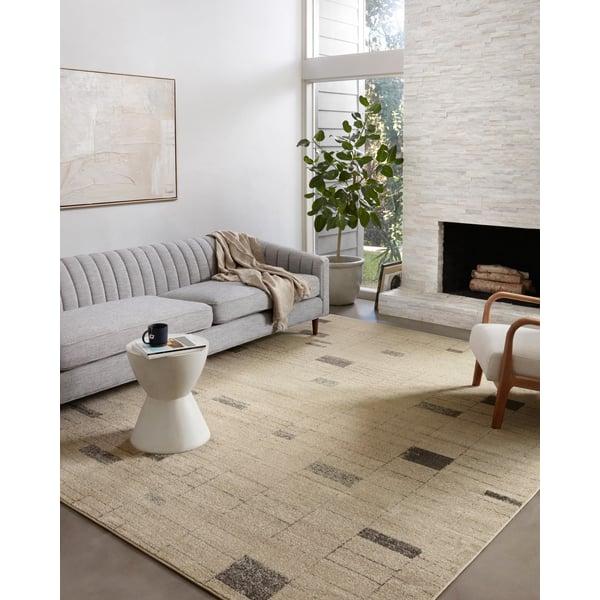 Slate, Taupe Contemporary / Modern Area Rug