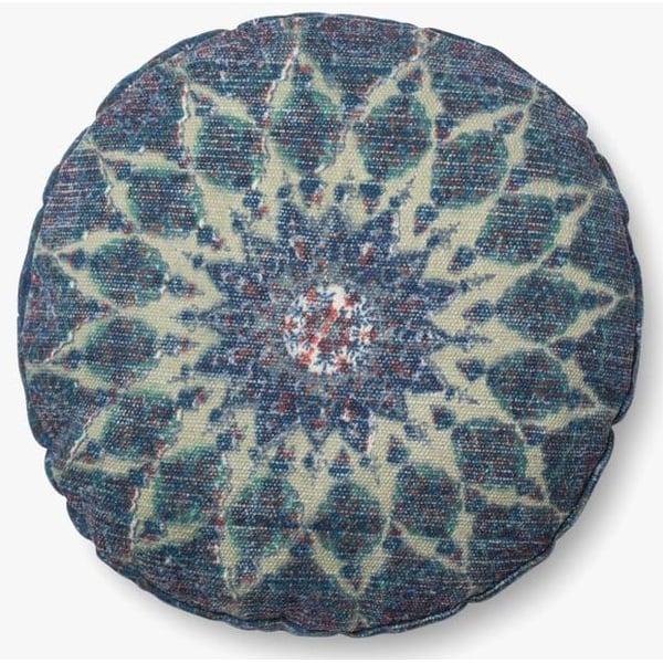 Blue, Teal Bohemian Pillow