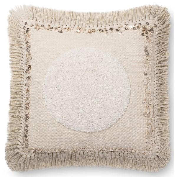 Natural Bohemian pillow