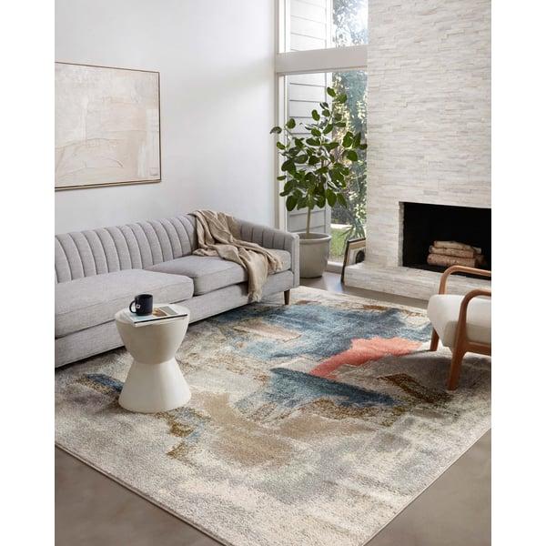 Stone Contemporary / Modern Area Rug