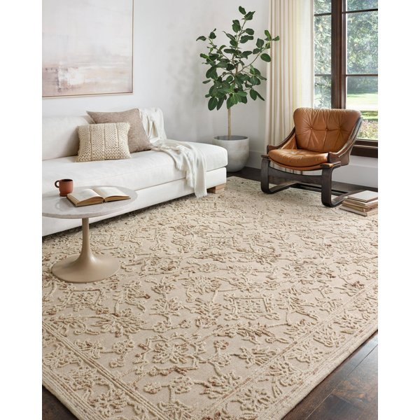 Natural, Sage Traditional / Oriental Area Rug