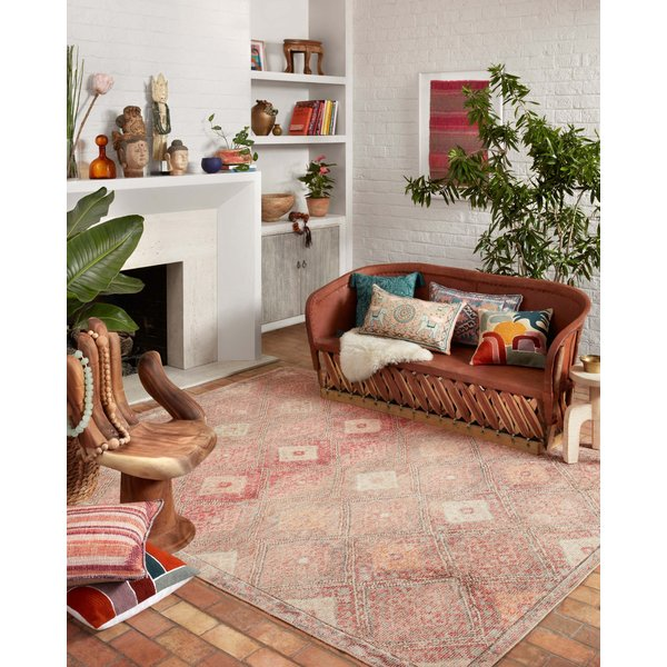Dove, Sunset Bohemian Area Rug
