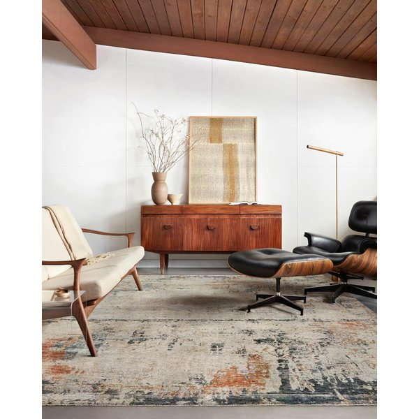 Stone Abstract Area-Rugs