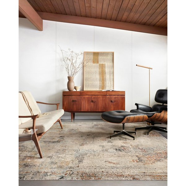 Sand Abstract Area-Rugs