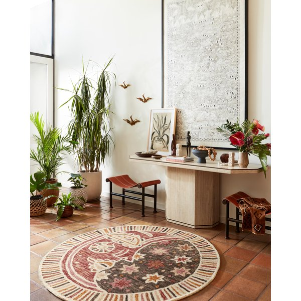 Rose Global Nomad Area-Rugs
