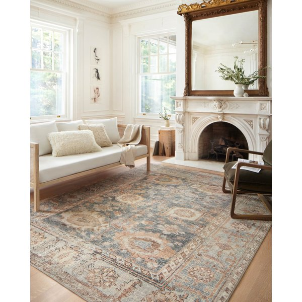 Ocean, Spice Vintage / Overdyed Area-Rugs
