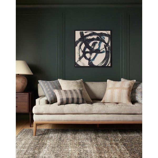 Blue, Beige Abstract Wall-Hangings