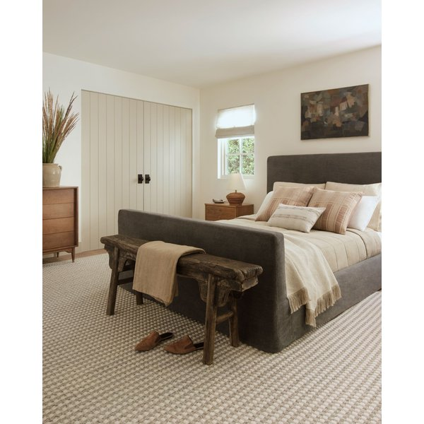 Ivory, Natural Contemporary / Modern Area-Rugs