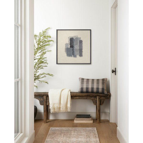 Grey, Blue Abstract Wall-Hangings