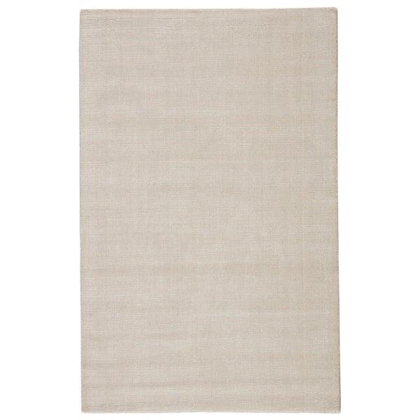 White (KT-03) Contemporary / Modern Area Rug