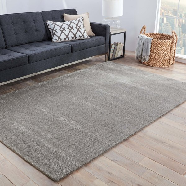 Grey, Silver (KT-12) Contemporary / Modern Area-Rugs