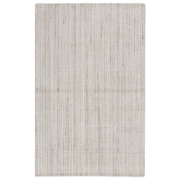 Gray, White (KT-37) Contemporary / Modern Area Rug