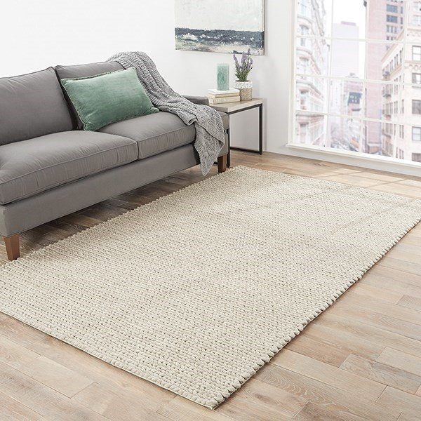 Oyster Grey (SCD-08) Solid Area Rug