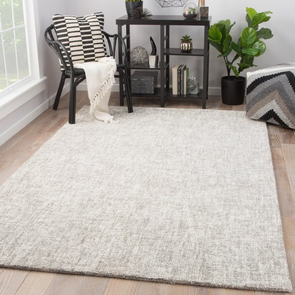 Ivory, Taupe (BRP-09) Contemporary / Modern Area Rug